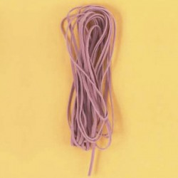 Velur vrvica 3mm x 5m, roza