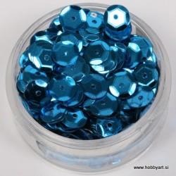Bleščice za šivanje 6mm 6g, Modre