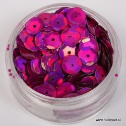 Bleščice za šivanje 6mm 6g, Pink