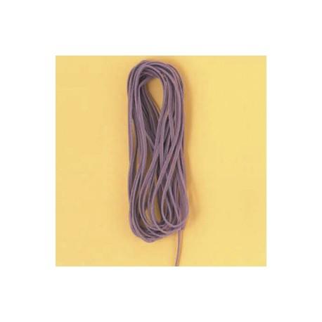 Velur vrvica 3mm x 5m, vijolična