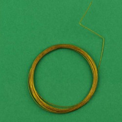 Najlonska žica, 0,45mm x 4m, zlate b.
