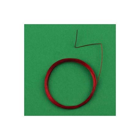 Najlonska žica, 0,45mm x 4m, rdeča