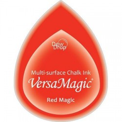 Versa Magic blazinica solza 24 x 38mm, Red magic