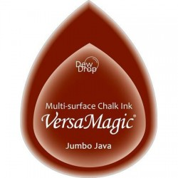 Versa Magic blazinica solza 24 x 38mm, Jumbo java