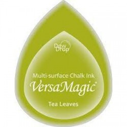 Versa Magic blazinica solza 24 x 38mm, Tea leaves