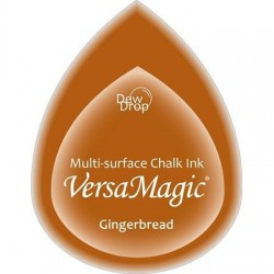Versa Magic blazinica solza 24 x 38mm, Gingerbread