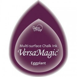 Versa Magic blazinica solza 24 x 38mm, Eggplant