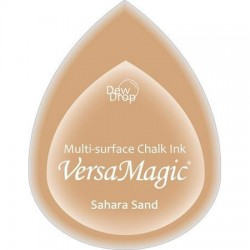 Versa Magic blazinica solza 24 x 38mm, Sahara sand