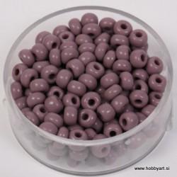 Perle neprosojne flieder 4,5mm, 17g.