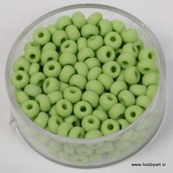 Perle mat Sv. zelene 4,5mm, 17g.