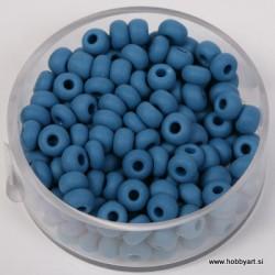 Perle mat Sred. Modre 4,5mm, 17g.