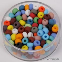 Perle mat Mešane b. 4,5mm, 17g.