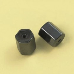 Magnetne perle, hematit b. 8 x 10mm, set 12