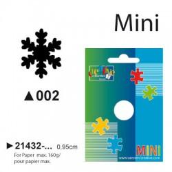 Luknjač Snežinka mini cca 0,95cm