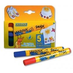 Komplet markerjev za tekstil (5)