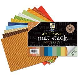 Lepljiv papir v bloku 11,2 x 16,2cm, Naravne barve 48 listov