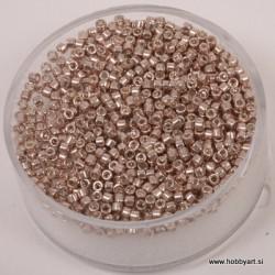 Delica perle 2mm, metalno Zlate 4g