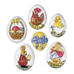 Kalup Velikonočna jajčka 6 x 4,5cm, 6 kosov