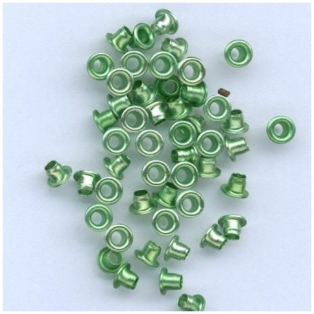 Zakovice 5,5mm, Zelena, 50 kosov