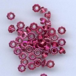Zakovice Rože 6mm, Fuksija, 50 kosov