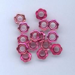 Zakovice Rože 10mm, Fuksija, 15 kosov