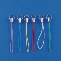 Vrvica z obročkom 6 kosov, Mešane barve