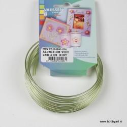 Aluminijasta žica 2mm x 5m, Mint