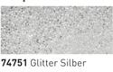 Šablonska barva za steklo 50ml, 51 Srebrne bleščice (art. K74751)