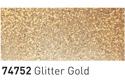 Šablonska barva za steklo 50ml, 52 Zlate bleščice (art. K74752)