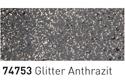 Šablonska barva za steklo 50ml, 53 Antracitne bleščice (art. K74753)