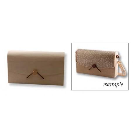 Lesena škatla - torbica 24 x 5 x 14cm