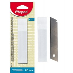 Rezervni nožki za grafični nož 18mm, 10 kosov