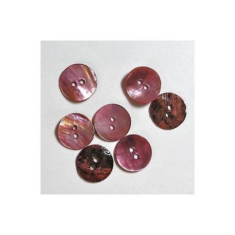 Gumbi roza 15mm, set 15