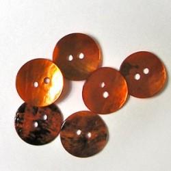 Gumbi oranžni 15mm, set 15