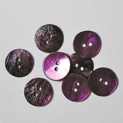 Gumbi vijolični 15mm, set 15