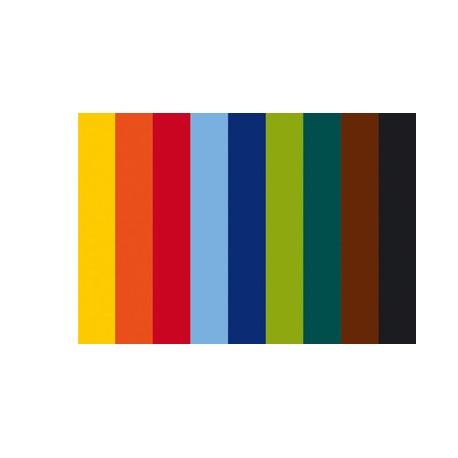 Filc 20 x 30cm debelina ca 1mm komplet 10 barv