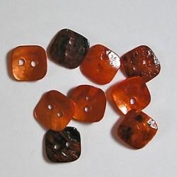 Gumbi oranžni 12 x 12mm, set 20