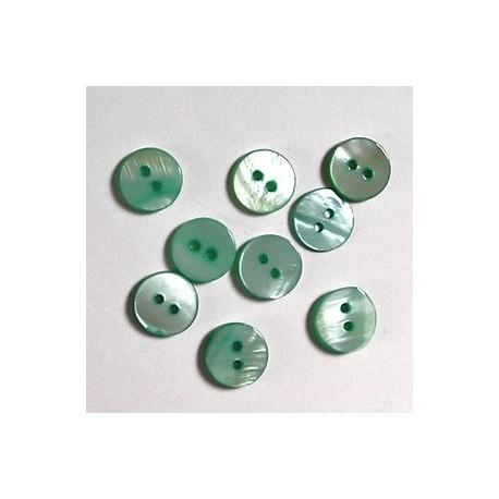 Gumbi zeleni, 12mm, set 20