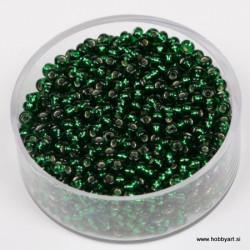 Srebrna sredica, zelena, 2,6mm 17g.