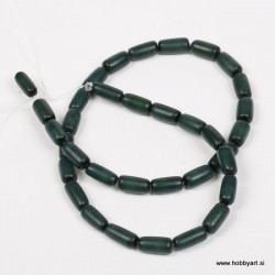 Perle Palma ovalne 6 x 12mm, Petrol ca 34 kosov