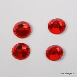 Bleščice za vroče lepljenje 5mm, Rdeče 100 kosov