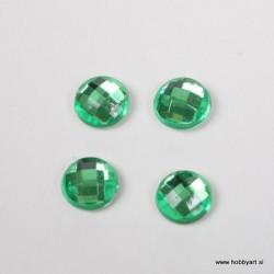 Bleščice za vroče lepljenje 5mm, Zelene 100 kosov
