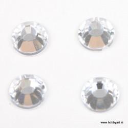 Bleščice za vroče lepljenje 7mm, Kristalne 50 kosov