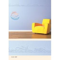 3D bordura 6m + 1x dekor Delfini