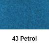 Filc 50 x 70cm debelina 3mm 43 Petrol (art. 5301-43)