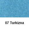 Filc 50 x 70cm debelina 3mm 07 Turkizna (art. 5301-07)