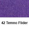 Filc 50 x 70cm debelina 3mm 42 Temno Flider (art. 5301-42)
