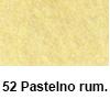 Filc 50 x 70cm debelina 3mm 52 Pastelno rumena (art. 5301-52)