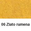 Filc 50 x 70cm debelina 3mm 06 Zlato Rumena (art. 5301-06)