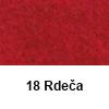 Filc 50 x 70cm debelina 3mm 18 Rdeča (art. 5301-18)